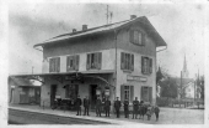 Bahnhof 1915