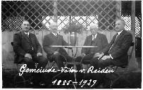 Gemeinde-Väter von Reiden 1885 - 1929