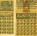 Rationierung 1. Weltkrieg 1919