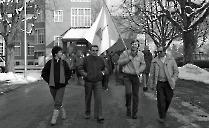 1986 Jubiläumsfahne