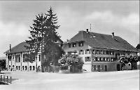 Gasthaus zur Sonne 1926 mit Saal