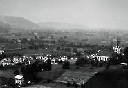 Blick vom Bifangrain gegen das Dorf 1905