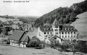 Kuranstalt und Dorf 1910