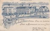 Kneippkuranstalt Blum 1901
